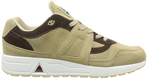Asfvlt City Run, Baskets Basses Mixte Adulte Beige (Milk Chocolate)