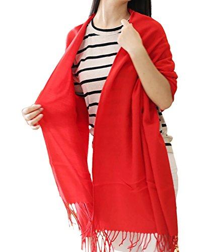 Damen Schal Oversized Herbstschal Winterschal Plaid Muster Deckenschal Poncho