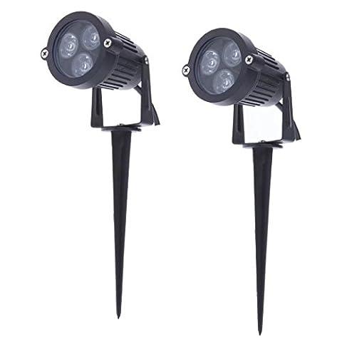 Landscape LED Spotlight Lighting 3W Mini Lawn Light Lamps with