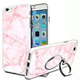 Marble Design Hard Case Cover & Ring Stand For Various