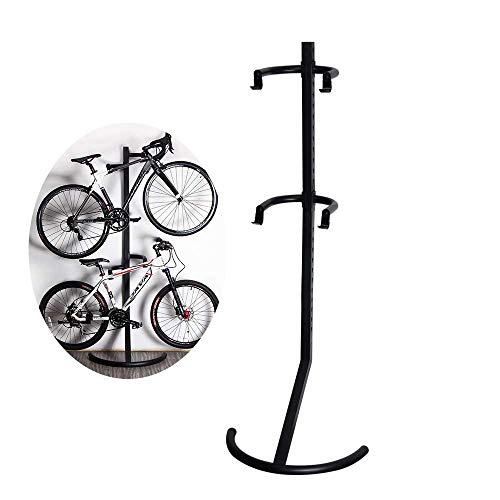 ZNN Soporte para portabicicletas - Bicicleta de Interior Vertical Vertical Pared Gravity Parking Rack...