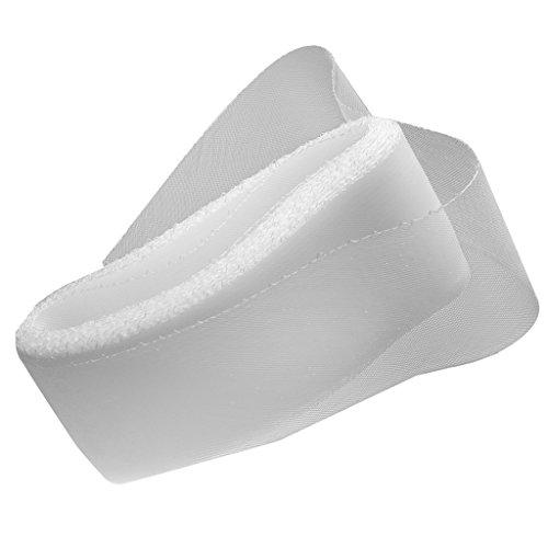 Sharplace Krinoline/Rosshaar Braid Trim - Weiß, 10cm