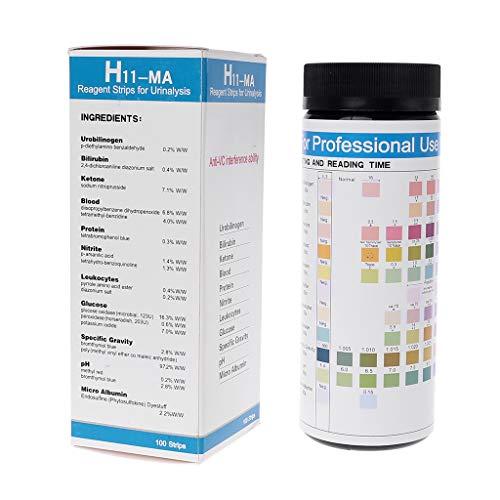 Tandou 100 Tiras Reactivas para análisis de orina: urobilinógeno, bi