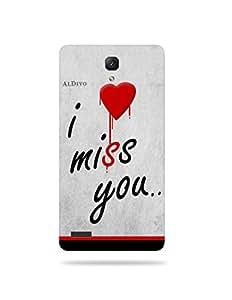alDivo Premium Quality Printed Mobile Back Cover For Redme Note 4G / Redme Note 4G Back Case Cover (MKD316)