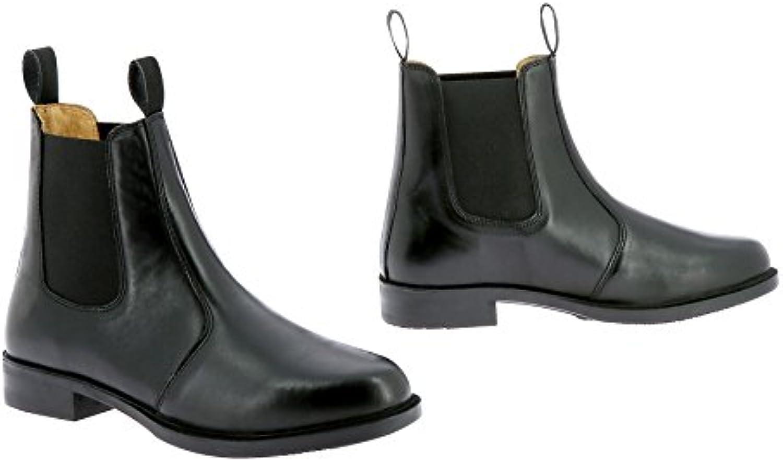 Equi-Theme, Stivali da Equitazione Donna Nero 39 | Lasciare Che I Nostri Beni Vanno Al Mondo  | Uomo/Donne Scarpa
