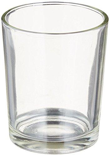 Just Artifacts Quecksilber Glas Votiv-Kerzenhalter Silber- (Silber-quecksilber Glas Votives)