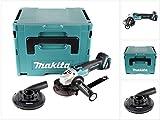 Makita DGA 504 ZJ 18 V 125 mm Brushless Akku Winkelschleifer im MAKPAC inkl. Einlage und Absaughaube - ohne Akku, ohne Ladegerät