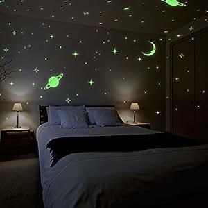 ... Jaamso Royals U0027Galaxy Of Stars Radium Glow In The Darku0027 Wall Sticker  (Vinyl, 32 Cm X