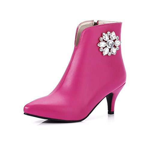 RFF-Women's Shoes L'automne et L'hiver Femme Type de Chaussures à Talons Hauts Chaussures Chaussures Taille Diamant a souligné