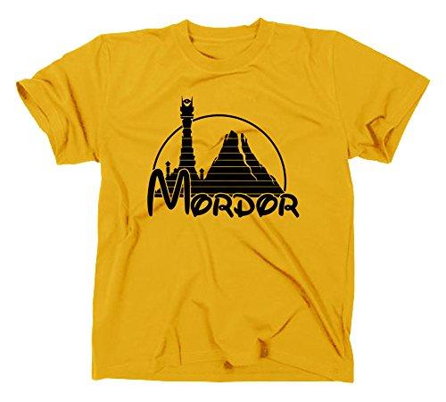 Mordor Fun T Shirt, Herr der Ringe, XXL, gelb