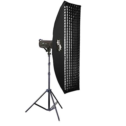 Nicefoto Pro TS-300 Studioblitz 300Ws + Striplight 30x180cm - Studioset -