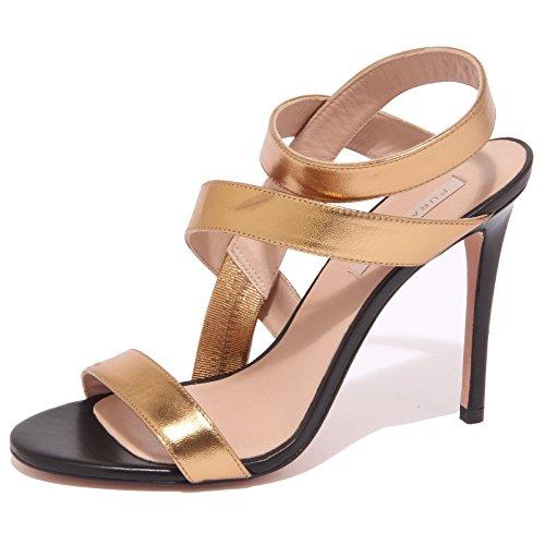 8881P sandalo PURA LOPEZ oro scarpa donna sandal woman [38]