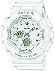 Casio Damen-Armbanduhr Baby-G Analog - Digital Quarz Resin BA-125-7AER
