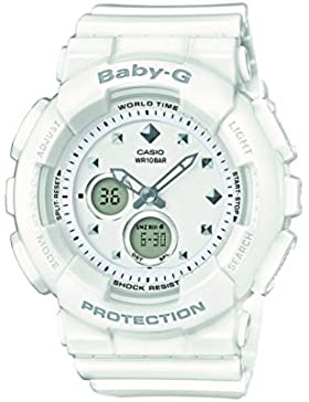 Casio Baby-G Damen Uhr Analog/Digital Quarz mit Resinarmband BA-125-7AER