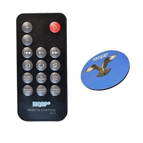 HQRP–Mando a distancia para SAMSUNG AH59–02632un, HW-H750, HW-H750/ZA, HW-H751, AH59–02631un, HW-H450, hw-hm45, hw-hm45C controlador de barra de sonido