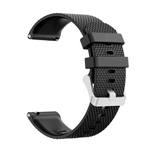 Battnot Uhrenarmbänder für Samsung Galaxy Watch Active Sport weiches Silikon Uhrenarmband Handgelenksriemen für Damen Herren Einstellbar Ersatzband Adjustable Watch Band Replacement Wriststraps 20mm