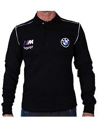 e7083fa478e BMW M Power Polo T-Shirt Flanelle Chemise à Manches Longues matelassé Coton  cardé Broderie