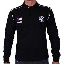 BMW M Power Polo T-Shirt Flanelle Chemise à Manches Longues matelassé Coton  cardé Broderie 9c244a0962c7