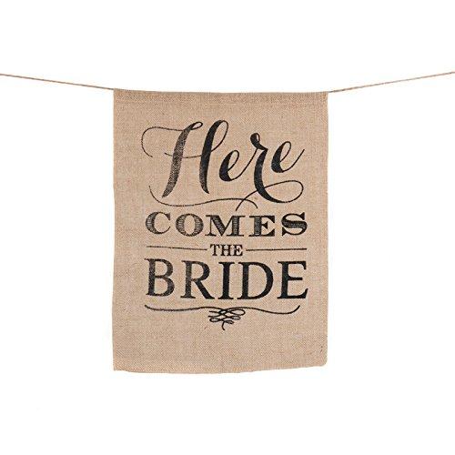 Jun Rustikal Thema Hochzeit Schild Flagge Banner