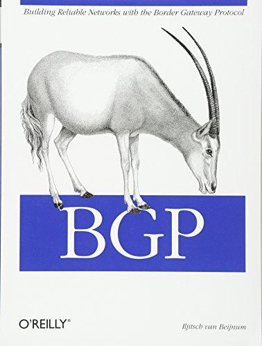 BGP 1st edition by Iljitsch Van Beijnum (2002) Taschenbuch