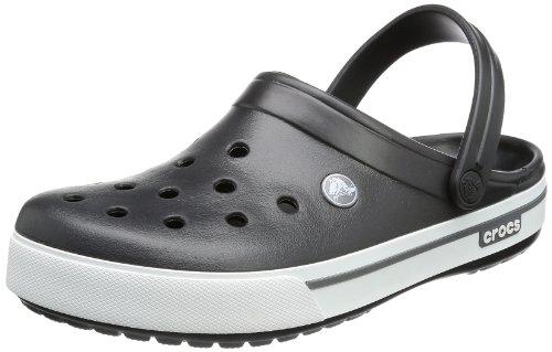 Crocs Band 2.5, Sabots mixte adulte, Noir (Black/Charcoal), EU 42-43, (US M9W11)