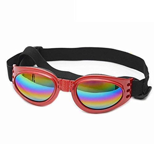 Aolvo Gafas de Moda para Perros, Gafas de Sol UV de Protección...