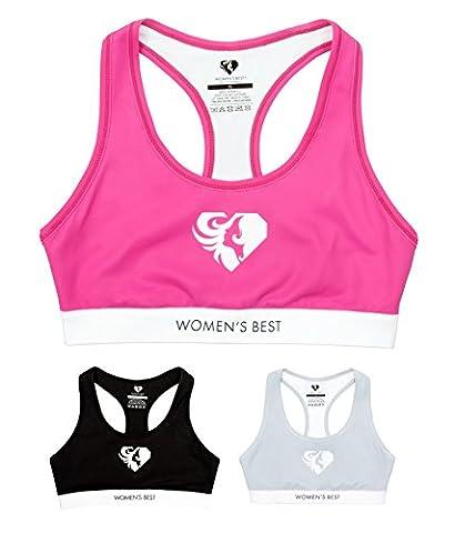 Soutien-gorge pour le SPORT | design élégant et confortable à porter | soutien très fort pour femmes | SOUTIEN-GORGE WOMEN'S BEST - Exclusive (S,