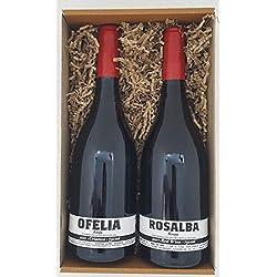 Petra Mora - Cesta de regalo gourmet: Vino de Rioja