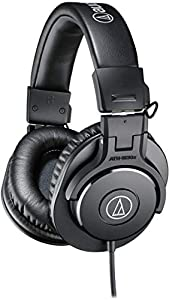 Audio-Technica ATH-M30X Professional Headphones - Black