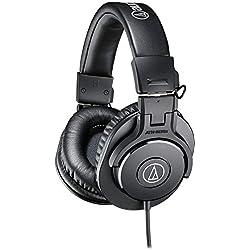 Audio-Technica ATH-M30X Casque audio professionnel Noir