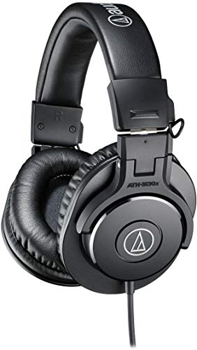 Audio ATH-M30X On-Ear Stereo Headphone (Black)