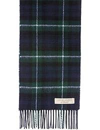 New Long Neck Tartan Scarf Scottish Lochcarron Wool Scarf MacKenzie Modern