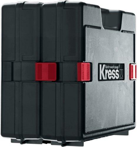 Preisvergleich Produktbild Kress 98038403 Koffer Klick-Box PP Tragekoffer Bohren, schwarz