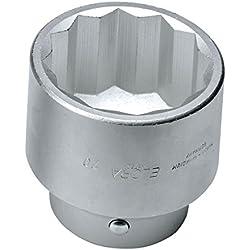 Elora 780A-2.5/8 Steckschlüssel-Einsatz 1 Zoll, Zwölfkant, 2.5/8 AF