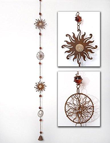 Girlande Sonnenfänger mit Glocke 110 cm -