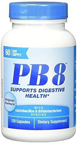 PB8, formule originale, Pro-biotiques Acidophilus - Nutrition