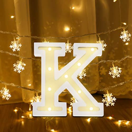 f Nachtlicht Batterie Romantisch LED Licht Nachtlampe LED Dekoration für Heiratsantrag Volkstrauertag Schlafzimmer Party Haus Dekor Nachtleuchte (K) ()