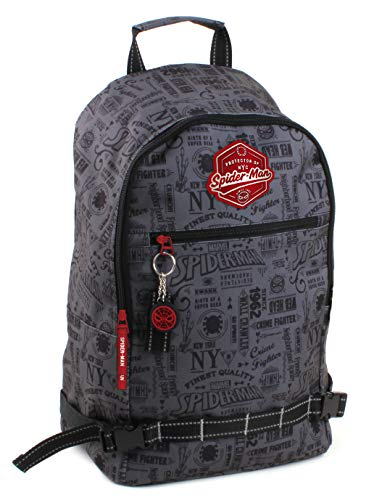 Spider-Man The Crime Rucksack grau