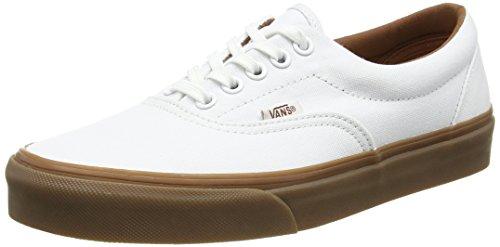 Vans U ERA GUMSOLE, Sneakers Basses mixte adulte Blanc - White (Gumsole - True White/Medium Gum)