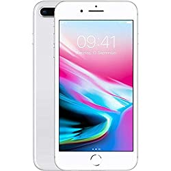 Apple iPhone 8 Plus - Smartphone con Pantalla DE 13,9 cm (256 GB, Plata)