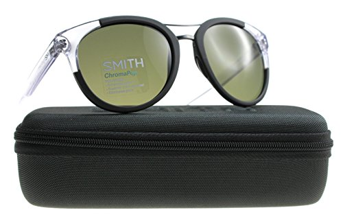 3ef9b20f58 Smith Women's BRIDGETOWN L7 7C5 54 Sunglasses, Black (Black Crystal/Grey  Grn Pz