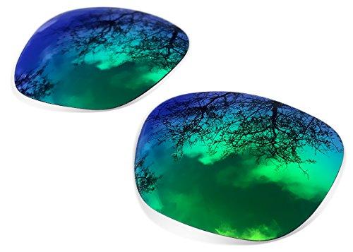 sunglasses restorer Ersatzgläser für Oakley Holbrook, Polarisierte Sapphire Green Linsen