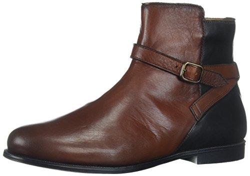 Sebago Damen Plaza Ankle Boot Chelsea, Braun (Cognac/Black Leather), 39 EU (Leder Braun Boots)