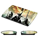 Sony Playstation 3 Superslim CECH-4000 Design Skin Folie Aufkleber - Herr der Ringe - Motiv 8