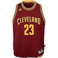 efc69befb adidas Lebron James Cleveland Cavaliers NBA Youth Swingman Jersey - Red