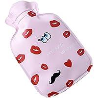 Kreative Cartoon Wasser gefüllt Wärmflasche / Winter warm 100ml (Red Lips) preisvergleich bei billige-tabletten.eu