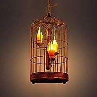 BCX Iluminación Araña Araña Antigua Aldea Barra Bar Casa de té Luz Verde ...