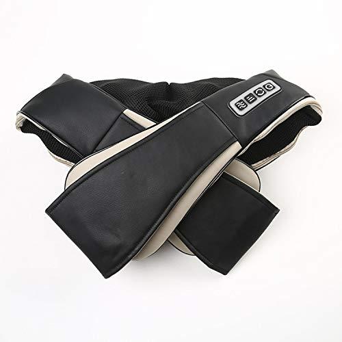 Knetmassage-Schal-Zervikalmassagegerät, Auto-Startseite Heizung Schulter Hals Taille Schal