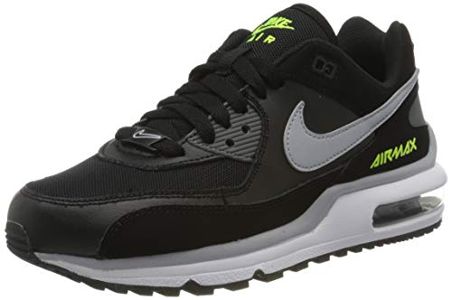 Nike Jungen Air Max Wright Bg Traillaufschuhe, Mehrfarbig (Black/Wolf Grey-Volt 001), 40 EU