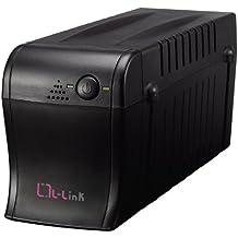 L-Link LL-1070-F - Sistema de alimentación ininterrumpida (700 V, 1 Schuko), color negro